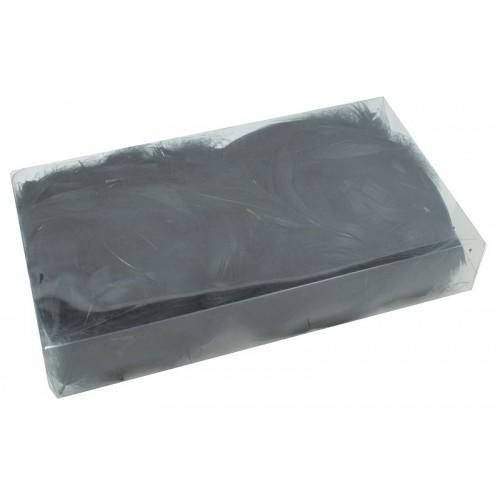 Czarne Piórka Dekoracyjne Blister 50 Gram