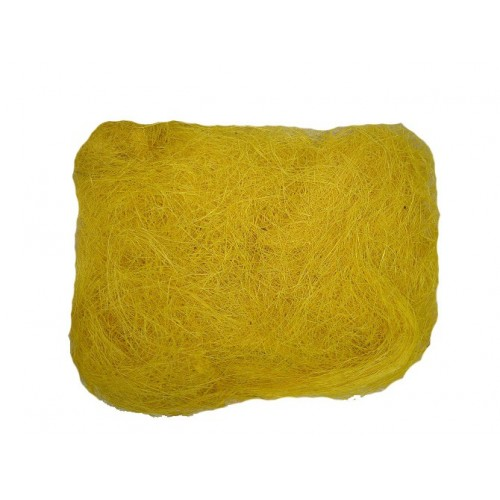 Sizal żółty Sianko Włókno Agawy 50g
